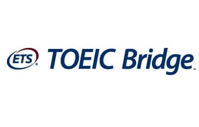 ets toeic bridge logo